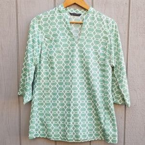 Brooks Brothers Popover Blouse